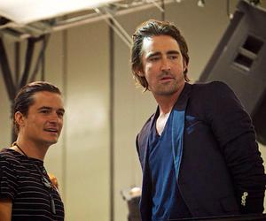 lee pace and orlando bloom image