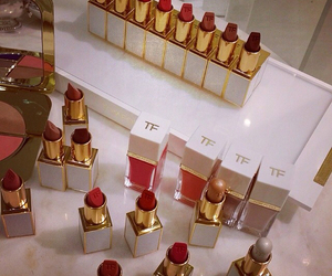 lipstick, tom ford, and makeup image