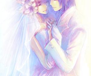 veil, wedding, and athrun zala image