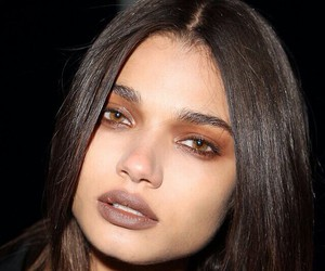 model, daniela braga, and makeup image