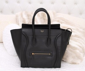 bag, black, and celine image