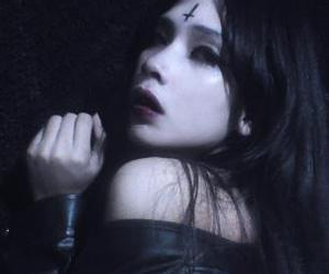 goth girl, dark soul, and black style image