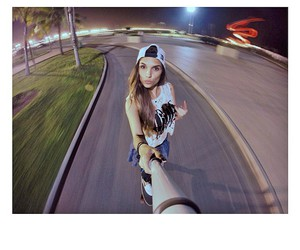 brazilian girl, fish eye, and fisheye image