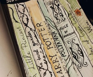 alice in wonderland, books, and cool image