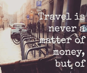 money, friends, and travel image