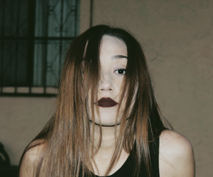rock, girl, and grunge image