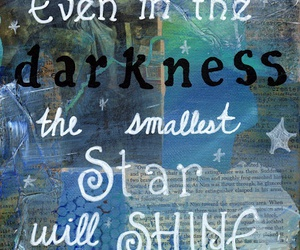 stars, Darkness, and quote image
