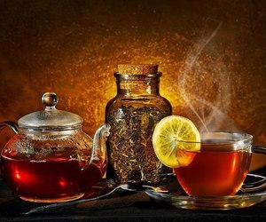 color, sweet, and tea image