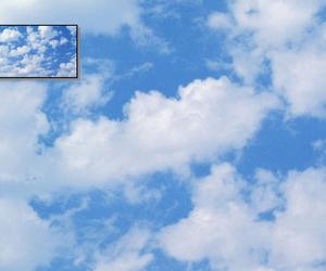 blue, indie, and skies image