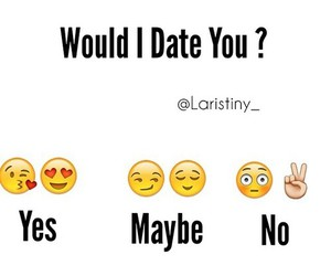 Yes maybe no dating images