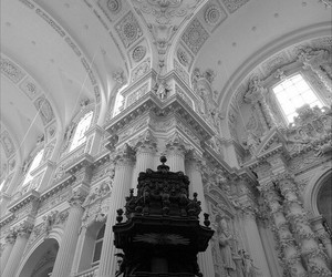 architecture, white, and black image