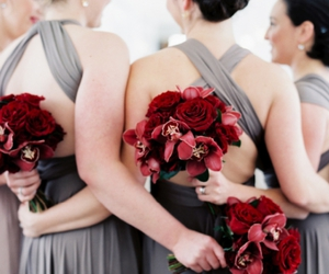 bridesmaids, dress, and dresses image