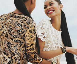 model, fashion, and Chanel Iman image