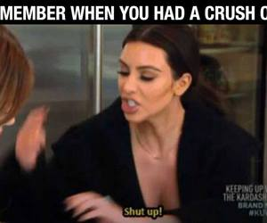 crush, funny, and kim kardashian image
