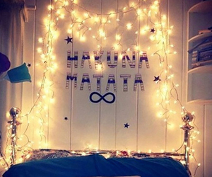 hakunamatata, love, and bedroom image