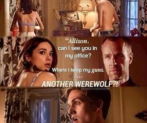 allison, chris, and teen wolf image