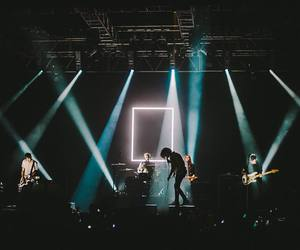 the 1975, light, and music image