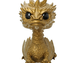 golden, smaug, and funko pop image