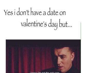 sam smith, funny, and Valentine's Day image