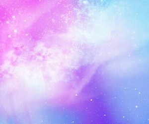 galaxy, blue, and pink image