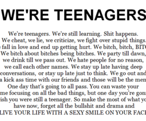 teenager, quotes, and life image