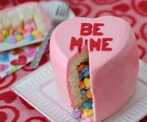 cake, sweet, and be mine image