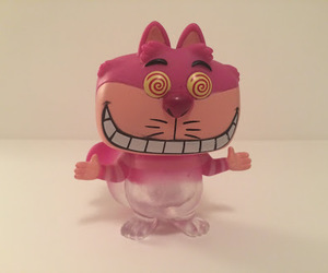 alice, Cheshire cat, and funko pop image
