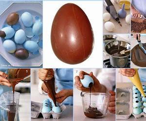 chocolate and egg image