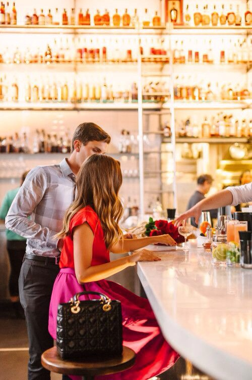 bar, couple, and cute image