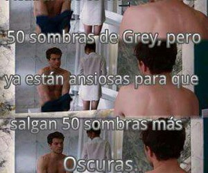 fifty shades, cincuenta sombras de grey, and 50 shades image