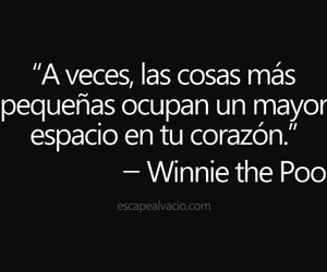 frases, winnie the pooh, and corazon image