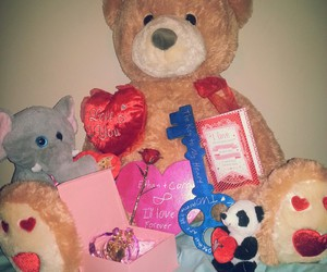 presents, valentines day, and love image