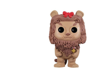 lion, cowardly, and funko pop image