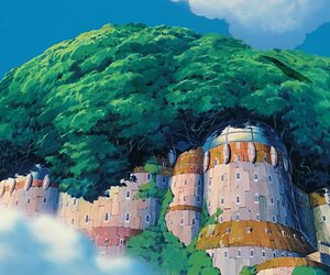 Castle in the Sky, wallpaper, and ghibli image
