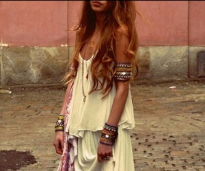 fashion, boho, and style image