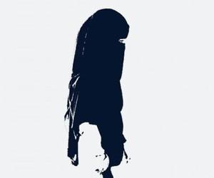 niqab, girl, and islam image