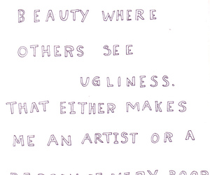 quote, beauty, and artist image