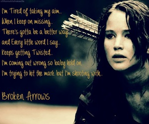 arrows, katniss, and hunger games image