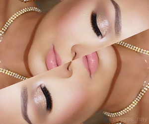 beauty, lashes, and maquillaje image