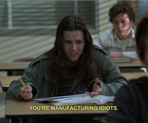 freaks and geeks, idiot, and grunge image