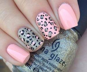lovely, animalprint, and nails image
