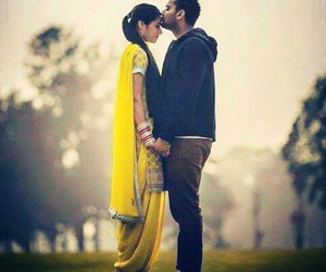 beautiful, couple, and punjabi image