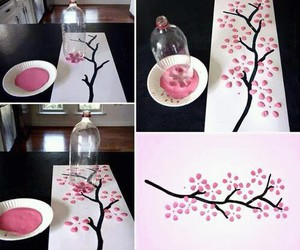 diy, pink, and flowers image