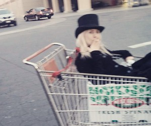 goth, trolly, and cart image