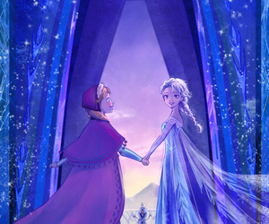 anna, disney, and frozen image