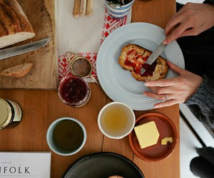 book, books, and breakfast image