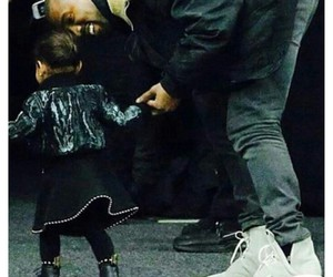 kanye west, north west, and so adorable image