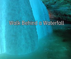 waterfall, bucket list, and Dream image