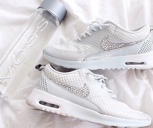 nike, love, and white image