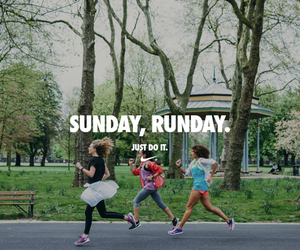 run, fit, and Sunday image